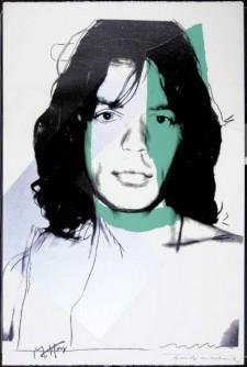 andy warhol Mick Jagger
