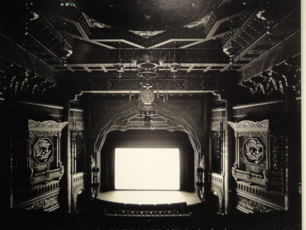 HIroshi Sugimoto theater photograph at The Armory Show 2011