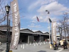 Entrance of The Armory Show 2011 in New York