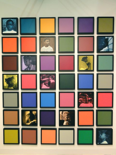 Carrie Mae Weems photographs at The Armory Show 2011