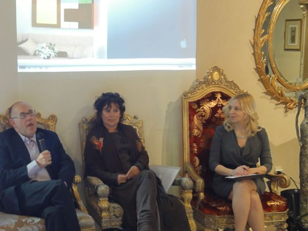 Cheryl Perkey is guest speaker at panel discussion during annual Avenues of Art and Design week in West Hollywood