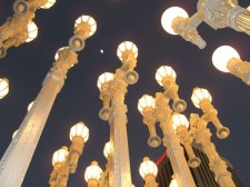 Los Angeles County Museum of Art installation by Chris Burden