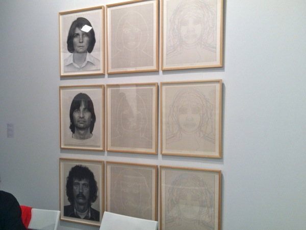 Charles Gaines at Art Los Angeles Contemporary 2102