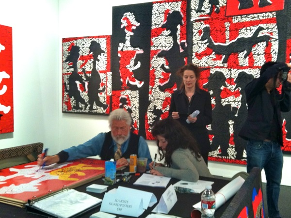 Ed Moses at Art Los Angeles Contemporary 2012