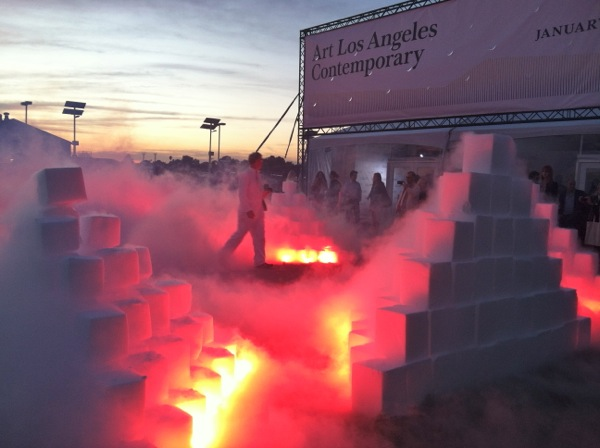 Judy Chicago Disappearing Environments at Art Contemporary Los Angeles 2012