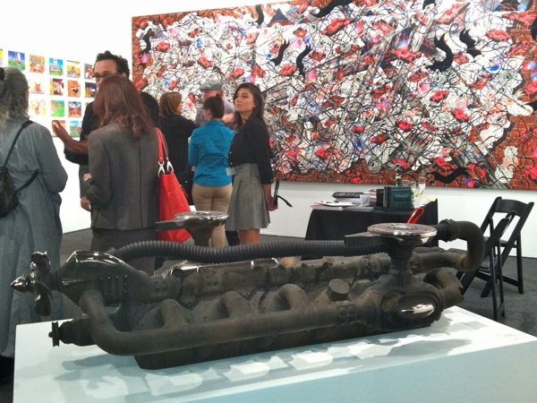 Steven Montgomery at Art Los Angeles Contemporary 2102