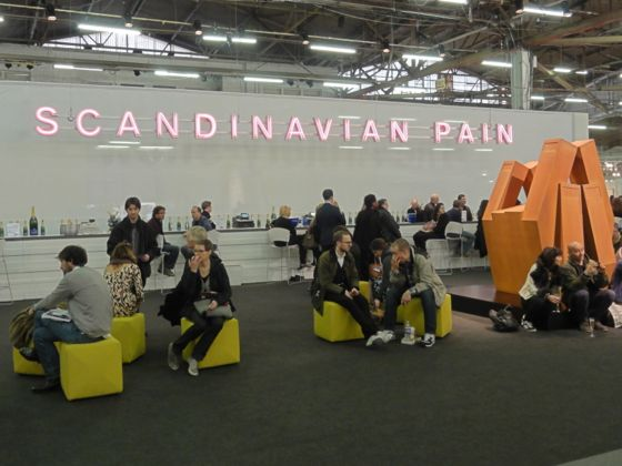 Neon installation Scandanavian Pain at The Armory Show 2012
