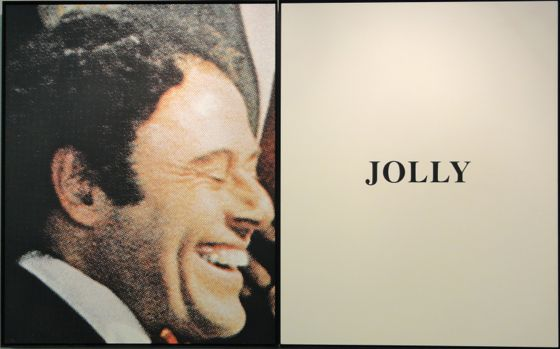 John Baldessari artwork at The Armory Show 2012