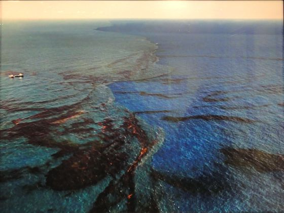 Edward Burtynsky Oil Spill Gulf of Mexico at The Armory Show 2012