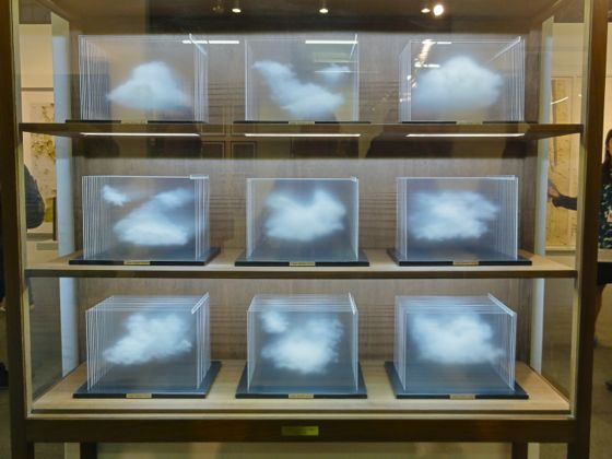 Leandro Erlich Cloud Collection at The Armory Show 2012