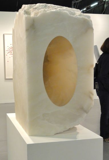 Anish Kapoor artwork at The Armory Show 2012