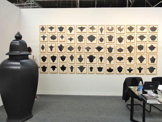 Allan McCollum Artworks at The Armory Show 2012