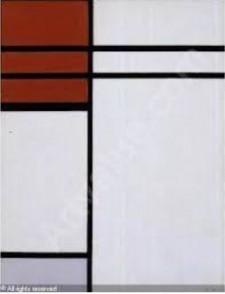 Stolen Artwork Piet Mondrian