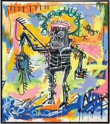 Jean-Michel Basquiat painting hits record price at Christie's auction