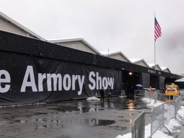The Armory Show 2013 Pier 94 Entrance