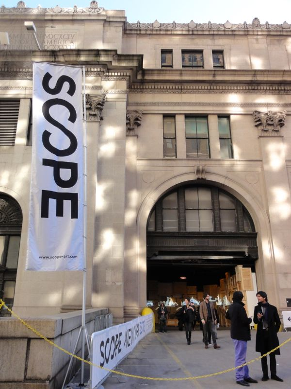 05_Scope Art Fair's new 2013 venue at Moynihan Station, a former NYC Post Office