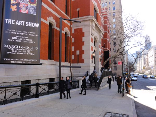The Art Show at the Park Avenue Armory, organized by ADAA)