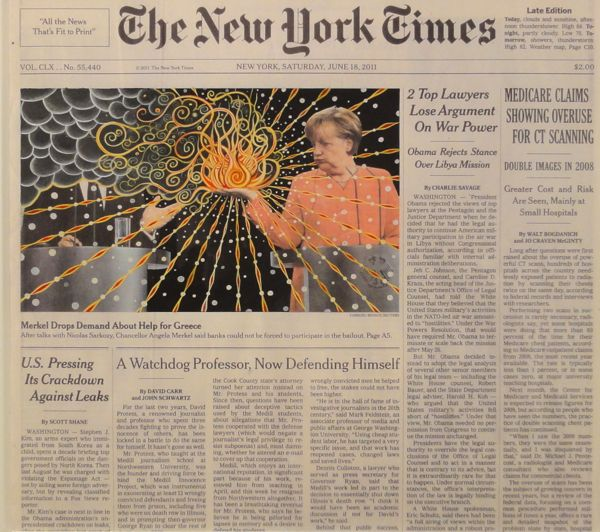Fred Tomaselli at The Art Show ADAA 2013