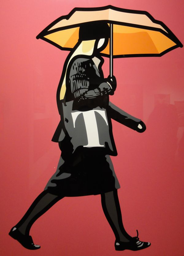 Julian Opie at The Art Show ADAA 2013