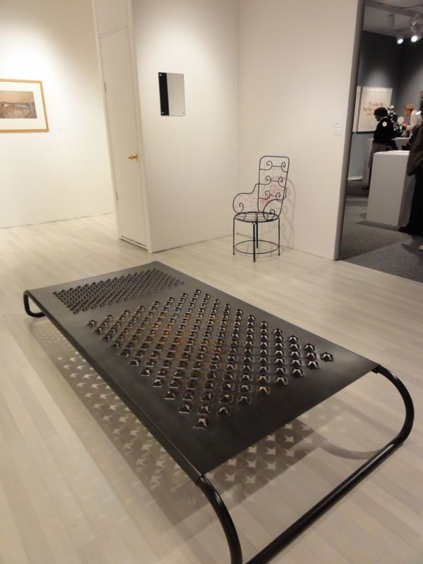 Mona Hatoum at The Art Show ADAA 2013