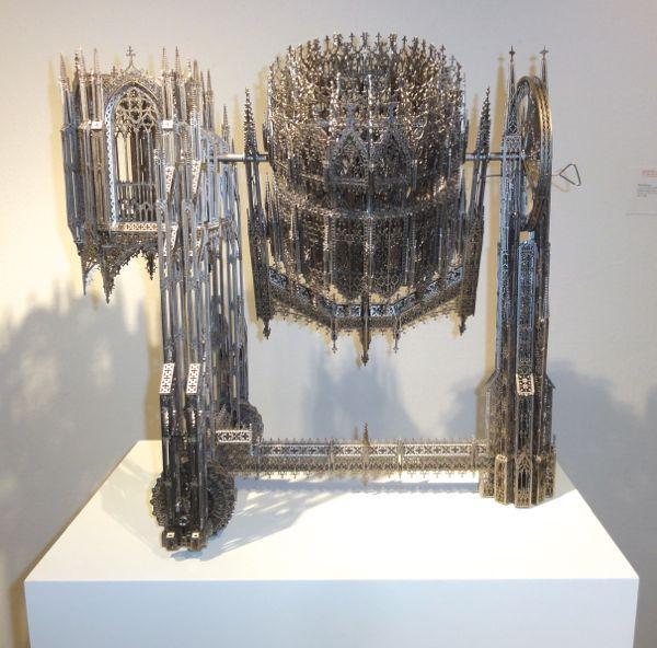 Wim Delvoye at The Art Show ADAA 2013