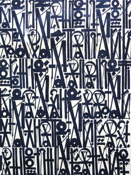Retna art Armory Show NY 2014
