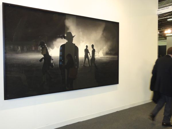 Robert Longo Art at The Armory Show NY 2014