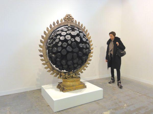 Tallur L.N. art Armory Show NY 2014