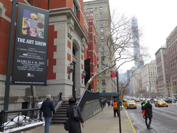 ADAA The Art Show 2015 Park Avenue Armory