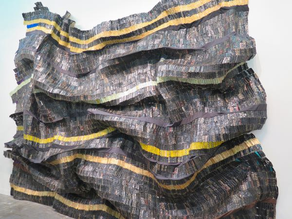 El Anatsui at The Armory Show 2015
