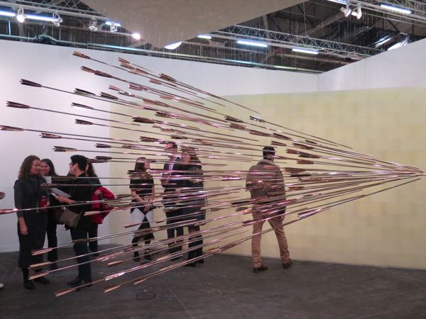 Glenn Kaino at The Armory Show 2014