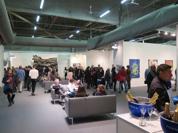 The Armory Show Contemporary 2015 at Pier 94 VIP Preview
