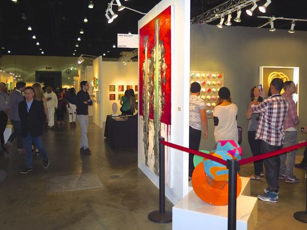 LA Art Show is one of six art fairs in Los Angeles January 2016
