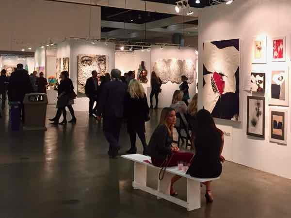 LA Art Show art fair contemporay and modern art