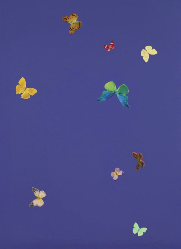 Damien Hirst Your Heart The Wonder of You Butterfly Print