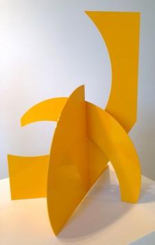 Betty Gold Mallorca II 2014 steel sculpture