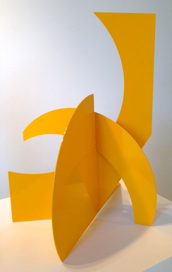 Betty Gold Mallorca II 2014 steel sculpture
